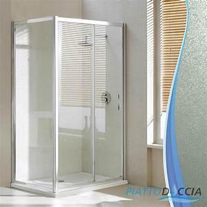 Cabine De Douche 90x120 : cabine de douche 90x120 cm h198 angulaire 1 verre opaque ~ Edinachiropracticcenter.com Idées de Décoration