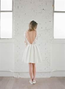 Robe Courte Mariée : mariage civil les robes courtes de rime arodaky ~ Melissatoandfro.com Idées de Décoration
