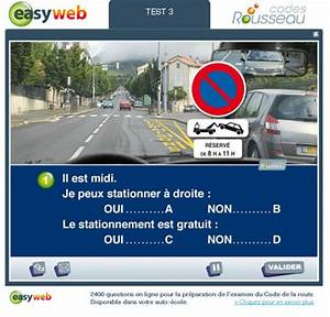 Tests Code De La Route : code de la route rousseau code de la route gratuit ~ Medecine-chirurgie-esthetiques.com Avis de Voitures