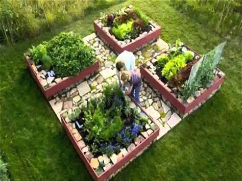 kitchen garden designs small home raised bed vegetable garden ideas 1761