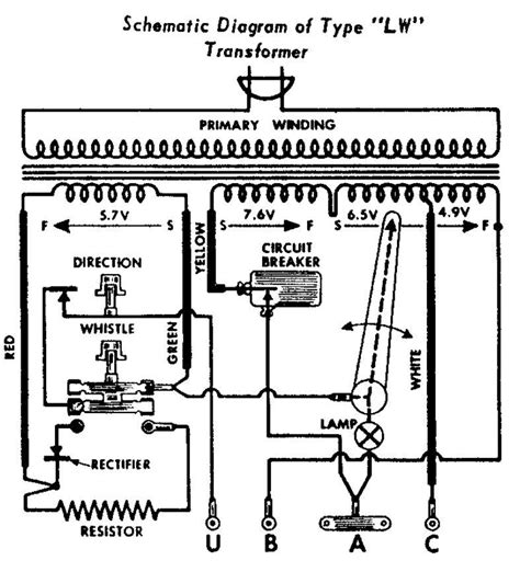 Lionel Transformer Type R Wiring Diagram by Lionel Lw On The Fritz O Railroading On Line Forum
