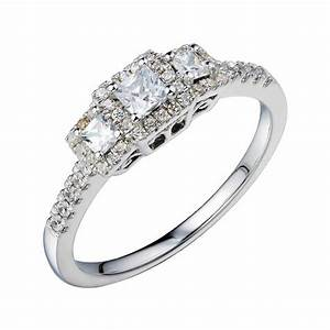 Jcpenney 1 2 ct tw vintage look diamond engagement for Jcpenney wedding rings