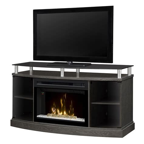 media console electric fireplace dimplex windham gds25cg 1015sc electric fireplace media