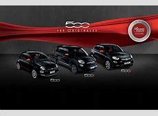 Fiat 500, 500L & 500X prix de la série spéciale Rosso