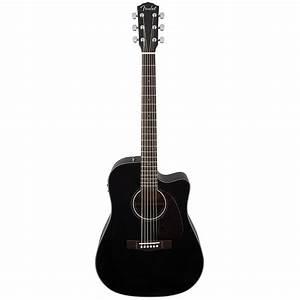 Fender CD 140 SCE Black « Acoustic Guitar