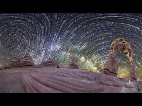 planetary panoramas  degree night sky time lapse