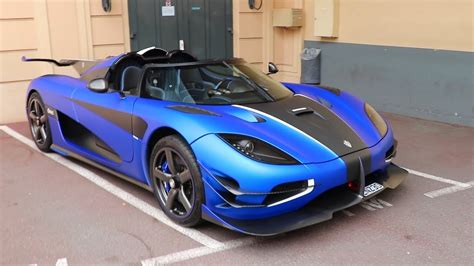 koenigsegg agera blue koenigsegg one 1 in matte blue captured in monaco