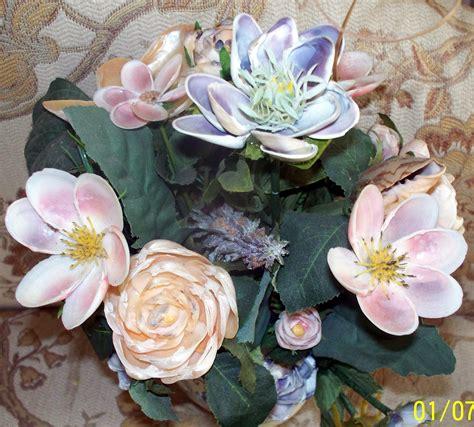 how to make seashell flowers sailor s valentine starshine waiting rosebuds and seashells sailor s valentines and