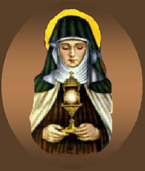 catholic caucus daily mass readings 08 11 12 m st clare