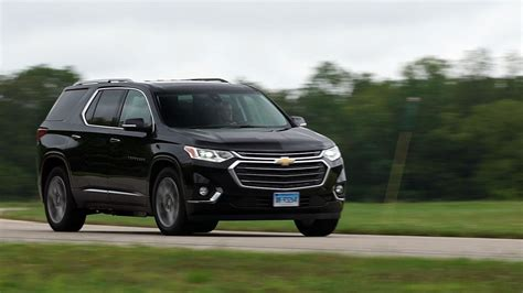 2020 Gmc Acadia Vs Chevy Traverse by All New 2018 Chevrolet Traverse Review Consumer Reports