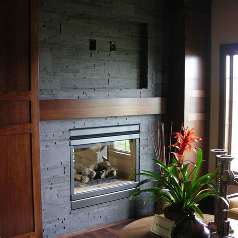 composite fireplace slate ish made from recycled materials tile slate