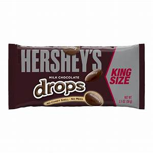 HERSHEY'S | HERSHEY'S Milk Chocolate Drops, 8-Ounce Pouches