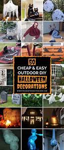 50, Cheap, And, Easy, Outdoor, Halloween, Decor, Diy, Ideas