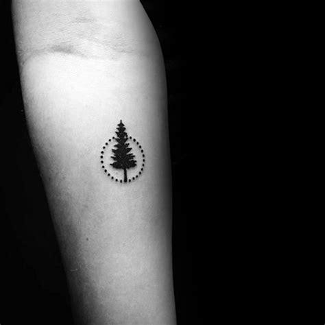 simple tree tattoo designs  men forest ink ideas