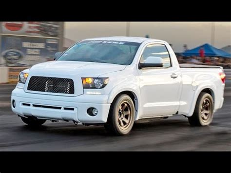 fundra trd supercharged toyota tundra youtube