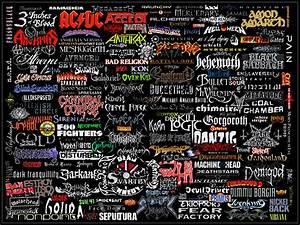 Heavy Metal Bands Wallpaper - WallpaperSafari