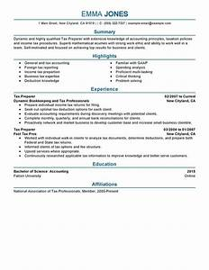 tax preparer resume examples free to try today With tax preparer resume templates