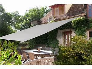 Voile D39ombrage Rectangulaire En Polyester 180gm 4x29m