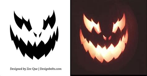 free pumpkin carving templates printable 10 free scary cool pumpkin carving stencils patterns templates ideas 2015