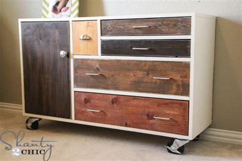 diy furniture dresser shanty  chic