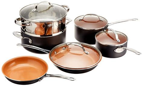 gotham cookware steel nonstick pan kitchen piece amazon frying titanium pans ceramic deal