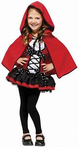 Girls Sweet Red Riding Hood Kids Costume - Mr. Costumes