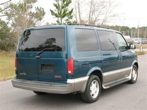 auto air conditioning service 1996 gmc safari windshield wipe control sell used 2003 gmc safari sle extended passenger van 3 door 4 3l in gainesville florida united