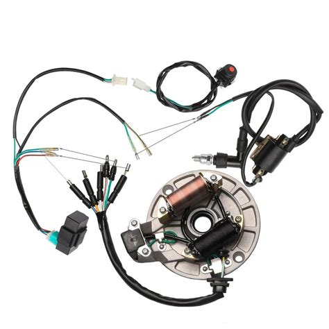 Honda 125cc Wiring by Electrics 50 110 125cc Wire Harness Cdi Coil Stator
