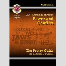 New Gcse English Literature Aqa Poetry Guide Power Conflict Anthology Brand New Ebay