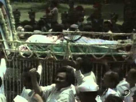 rajiv gandhi funeral youtube