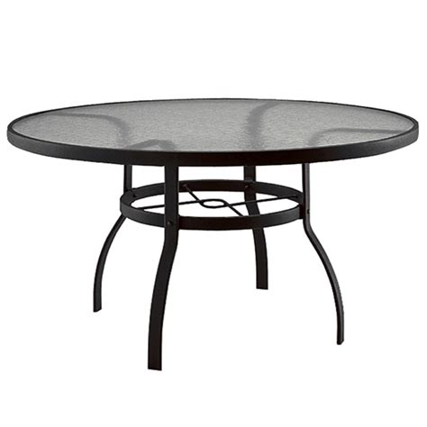 60 inch round outdoor dining table woodard deluxe 60 inch round glass top dining table 827360w