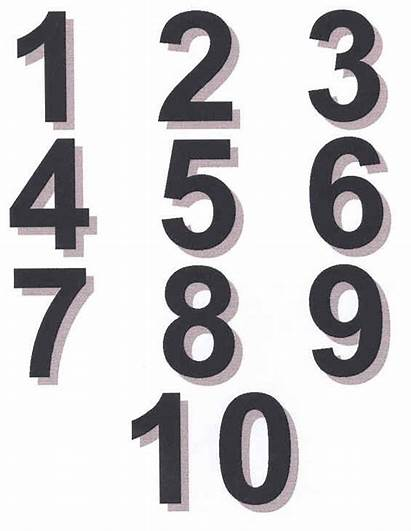 Numbers Clipart Fancy Separate Clip Count Patterns
