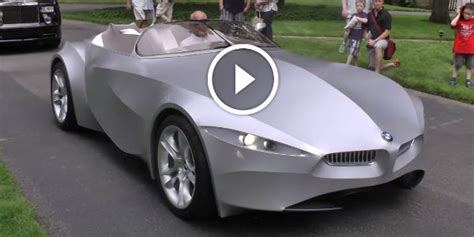 One Of A Kind Concept Car By Bmw Made Of Spandex! Could