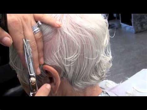 haircut short layers  degree  beginners youtube