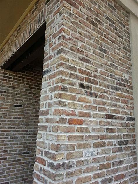 brick kitchen backsplash reclaimed chicago brick accents on the exterior 4551
