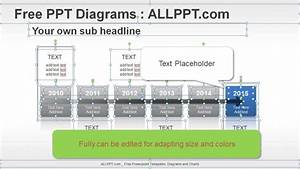 6 Years Timeline Ppt Diagrams   Download Free