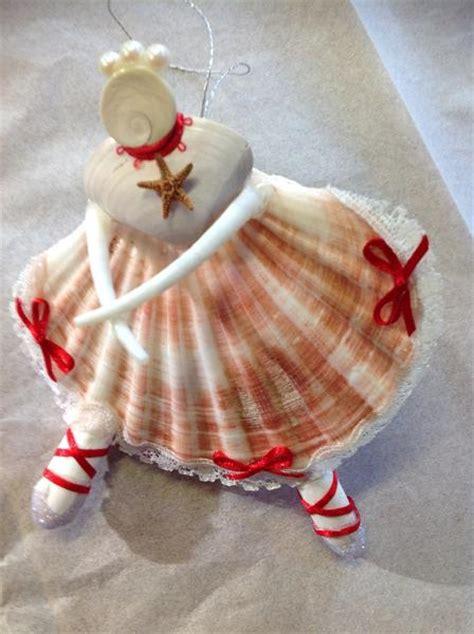 seashell ballerina christmas ornament sea  ventura