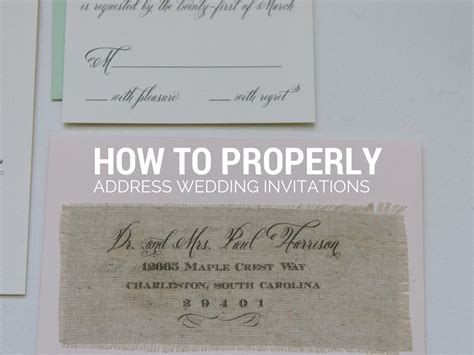 how to address an envelope to a family create proper way to address wedding invitations templates