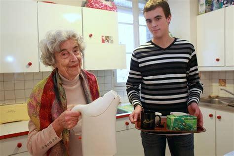 la colocation senior étudiant ou mélangez les générations avec la colocation étudiant senior