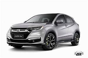 Honda Hrv 2018 : 2018 honda hr v facelift rendering ~ Medecine-chirurgie-esthetiques.com Avis de Voitures