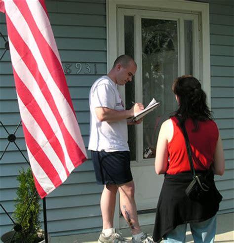 door to door canvassing canvassing and the amendment ohio citizen