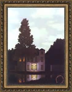 Rene Magritte Painting Empire of Light