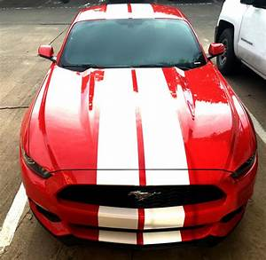 """Ford Mustang Racing Stripes 10"""" GT style 