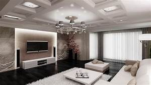 living room design With living room wall design ideas