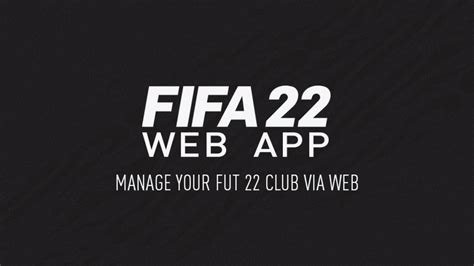 Navigating the app is actually very intuitive as it resembles the menu and interface of the fifa ultimate team mode. FIFA/FUT 22 Web App: Release date, how to use, tips and ...