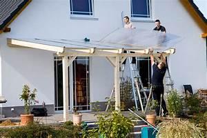Gartenhaus Streichen Vor Aufbau : aufbau einer leimholz terrassen berdachung ~ Buech-reservation.com Haus und Dekorationen