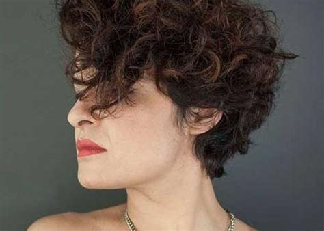 15 Best Ideas Of Trendy Short Curly Hairstyles