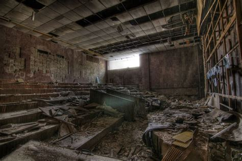 chernobyl pripyat abandoned ghost town apocalyptic illegal hall breathtaking lecture michael before photographs soviet palace culture contamination radioactive spreading items