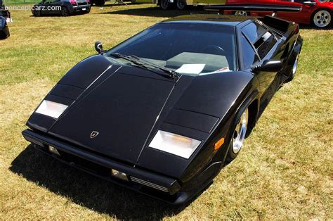 1980 Lamborghini Countach LP400S Image. Chassis number 1121150