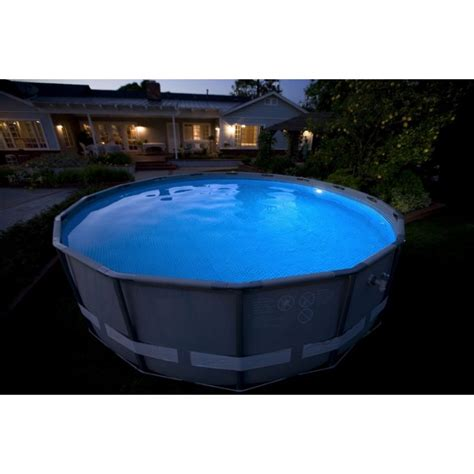 le led pour piscine le magn 233 tique 224 led pour 233 clairage de piscine spot magn 233 tique intex